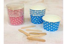 Χάρτινα Κυπελάκια Παγωτού Πουά Pi3471P  Χάρτινα κυπελάκια παγωτού σε ροζ πουά χρώμα, σε συσκευασία 6 τεμαχίων.Ιδανικά για το candy buffet της βάπτισης αλλά και για παιδικά party ή εκδηλώσεις. Συνδυάστε τα κυπελάκια με αντίστοιχα πιατάκια, καλαμάκια και χάρτινα σακουλάκια για να δώσετε ένα χαρούμενο ύφος στο τραπέζι σας.