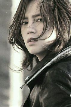 Long hair(;
