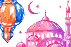 Ramadan. Banners and cards by Ulafant on Creative Market
