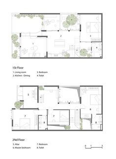 Luz Natural, Home Design Plans, Plan Design, Layout Site, Villa Plan, Arch Interior, Elements Of Nature, Two Story Homes, Architect House