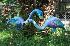 yard art flamingos | Flock to It | Deep South Magazine – Southern Food, Travel & Lit
