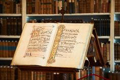 The baroque library, Mehrerau Abbey (Austria)