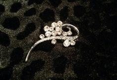 Silver Diamond Pin for sale at Glamhairus.com