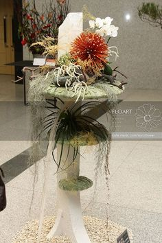 Artist and designer Jade Hwang, designer at Floart florist academy, Korea