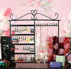 Too many jewelry? Then this Aspire jewelry stand's gonna help you put them in the right place!  #jewelry