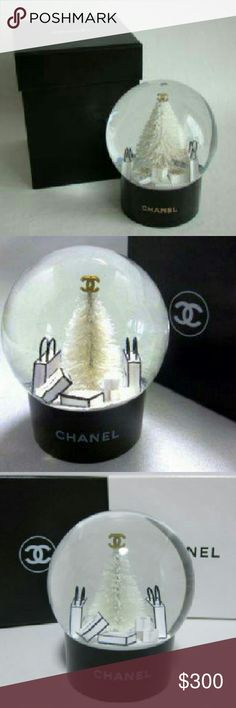 Limited Edition Chanel Snow Globe Limited Edition Chanel Snow Globe CHANEL Other