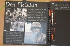 DON McCULLIN. i looked at his work in order to help with my aperture studies.