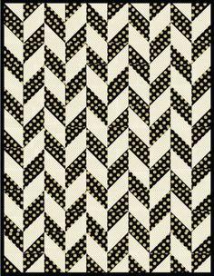 Herringbone Free Pattern: Robert Kaufman Fabric Company