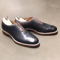 Summer' collection // Modèle : Jmg EnX1 // Patine : halo plg // Derby, Classic Man, Shoes Men, Summer Collection, Bespoke, Halo, Gentleman, Kicks, Oxford Shoes