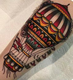 #inked #balloon #tattoo #tatuagem #alineymarques