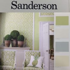 Effortless Elegance inspired by historical drawings. @sanderson Art of the Garden now in stock @glenwood interiors #darlington