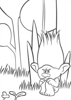 Trolls Coloring Pages 1 Find This Pin And More On