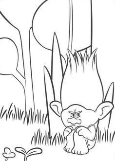 Ausmalbilder trolls malvorlagen pinterest for Trolls coloring pages dj suki