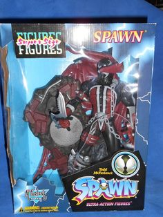 Todd McFarlane SPAWN Super Size Ultra Action Figure #McFarlaneToys
