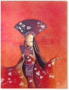 www.attimidicolore.it  Occhi d'Oriente / Stampa di alta qualità su tela con telaio artigianale / 60x80 cm