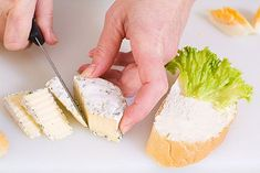 Luxusní domácí chlebíčky krok za krokem - Proženy Feta, Camembert Cheese