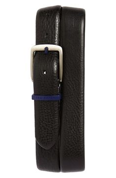 Ted Baker London 'Highlight' Leather Belt