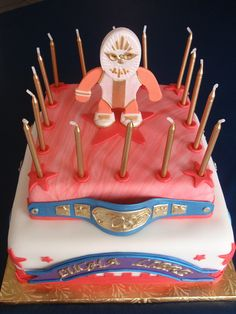 Lucha Libre Cake by Art Cakes, via Flickr