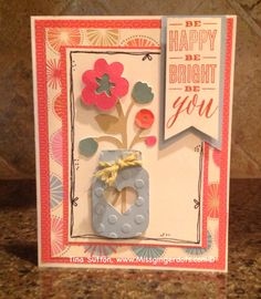 Card made from CTMH Artistry cartridge