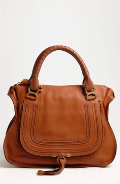 I want this!!! The most beautiful thing ever!!! Chloé 'Marcie Large' Leather Shoulder Bag