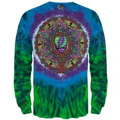 Grateful Dead - Celtic Mandala Long Sleeve T-Shirt | OldGlory.com