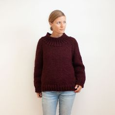 I've written up my notes for this funnel neck version of the Winston Pullover. If you're interested in making your own modified version I've included a link in my bio to the blog post!  The #winstonKAL has only just begun and I'm definitely going to cast on another one of these! I wouldn't allow myself to dip into my new yarn, even for a swatch, until this one was uploaded and crossed off the list.   Off to cast on the next....