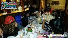 Guest seated at the table#TeamBuilding #NewMediaPublishing #MurderMystery