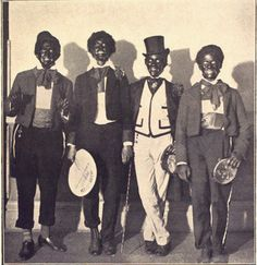 people black Minstrel show