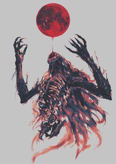 Beckon the blood moon Digital 4000x2000 #art