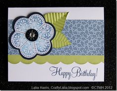 Art Philosophy Pemberley, Just for you, Close to My Heart, CTMH Card birthday