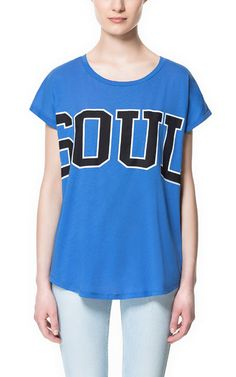 efc4851156 SOUL T-SHIRT - Special Prices - Woman - ZARA United States