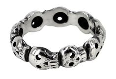 skulls Had a bracelet similar to this. Hope the sucker that stole it gets haunted.