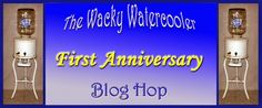 Wacky Watercooler 1st Anniversary Blog Hop First Anniversary, Stampin Up, Blog, Inspiration, First Birthdays, One Year Anniversary, Biblical Inspiration, Blogging, Inhalation