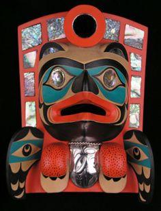 Art Thompson, Ditidaht, Nuu Chah Nulth, North West Coast Art,