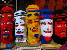 wedding favors?  Knit Masks by Sadie Sadie, via Flickr