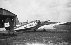 1953 orig: ERKY-NAGY TIBOR  MÁTYÁSFÖLDI REPÜLŐTÉR Arado Ar 79 típusú repülőgép