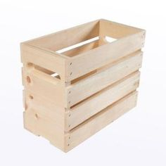 Crates & Pallet 12.5 in. x 6.625 in. x 9.5 in. Growler Small Wood Crate (2-Pack) 94672 at The Home Depot - Mobile