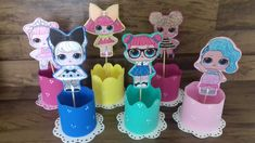 9th Birthday, Birthday Parties, Lol Dolls, Table Centerpieces, Birthday Decorations, Birthdays, Party, Kids, Crafts