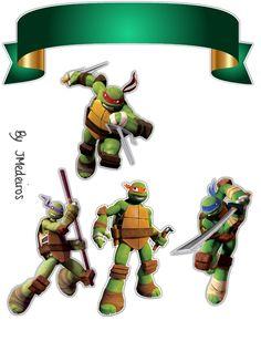 Ninja Birthday Parties, Tmnt, Bowser, Cake Toppers, Scrap, Inspiration, Ninja Turtle Cakes, Drawing Of Cake, Ninja Turtles