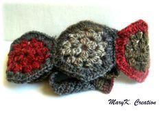 crochet boho granny hexagone headband