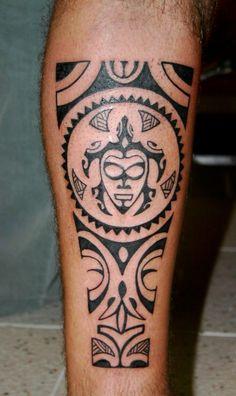 Tribal Tattoos, Geometric Wolf Tattoo, Palm Tattoos, Best Leg Tattoos, Cool Forearm Tattoos, Cute Tattoos, Knee Tattoo, Arm Band Tattoo, Tattoo Tortuga