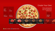 Order Pizza from Your Xbox 360