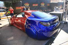 Crazy Custom Cars - pin by Alpine Concours Custom Paint Jobs, Custom Cars, Hot Rides, Truck Camper, Car Painting, Campers, Cool Cars, Creative Ideas, Tractors