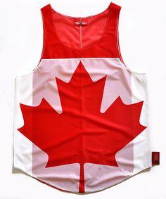 Canada Flag Tank Top
