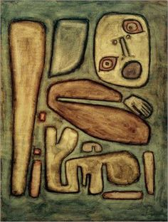Paul Klee, Explosion de peur III, 1939