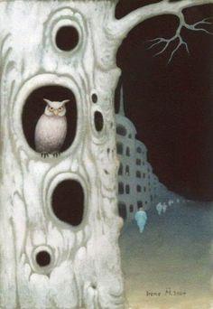 Lydia Anneli Bleth: OWL ARTat Hogwarts SchoolIrene Müller - Malerin, ...