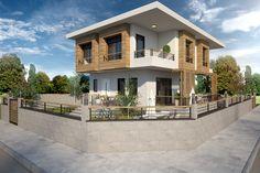 Villa Eylül #villa #houses #facade