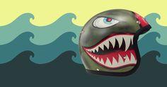 #dmd #vintage #moto #helmet #shark