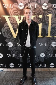 Actor Jamie Campbell Bower attends the TNT Supper Club: Will Dinner event during TNT at Vulture Festival at West Edge on May 21, 2017 in New York City. 27031_001