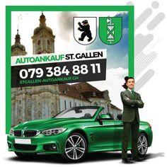 Autoankauf St. Gallen - Bestpreise für alle Modelle und Baujahre St Gallen, Movies, Movie Posters, Autos, Films, Film Poster, Popcorn Posters, Cinema, Film Books